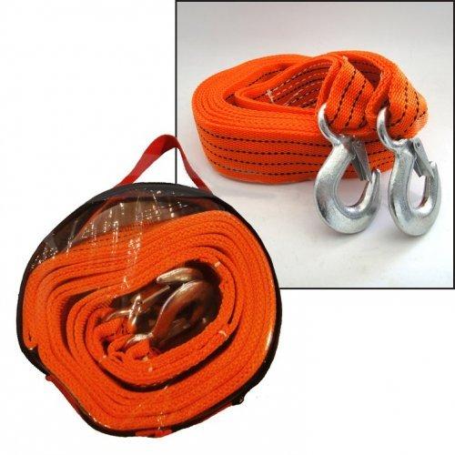 Въже буксирно колан 4m - оранжево