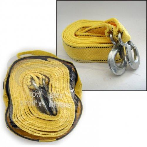 Въже буксирно колан ВТН / 4m -жълто