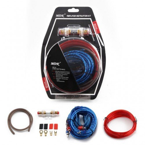 Автомобилен комплект кабели MDK, За монтаж на усилвател