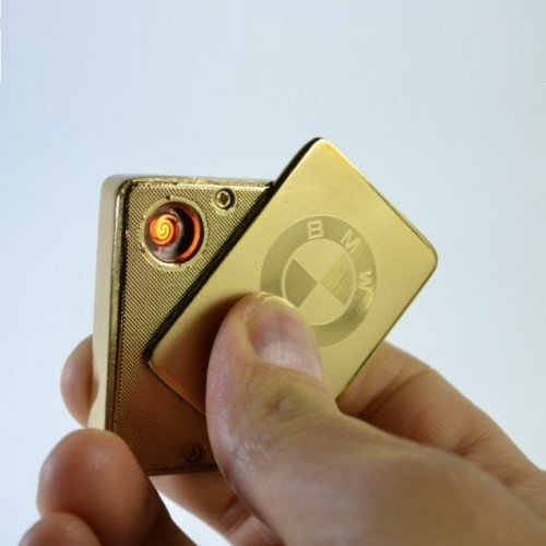 Луксозна Електрическа USB запалка за цигари без пламък - MERCEDES, BMW,VW,Audi