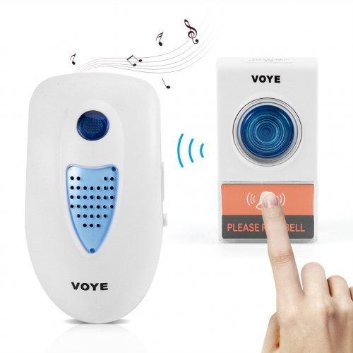 Безжичен звънец VOYE - две тела с един бутон