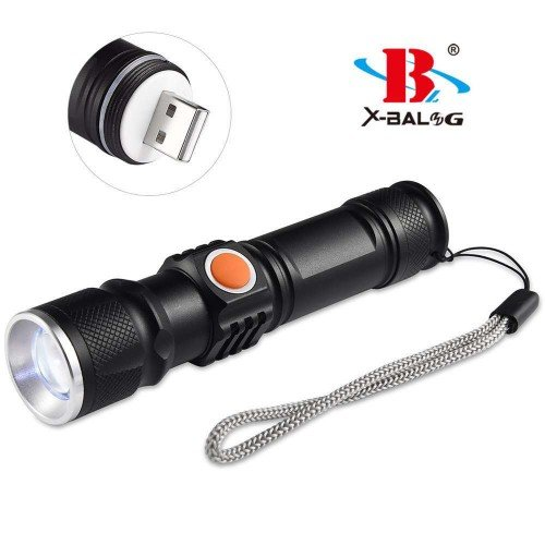 Мощен презареждаем LED Фенер с вградено USB
