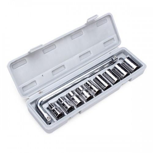 Комплект вложки с ключ 1/2, 10части , 8-22 мм