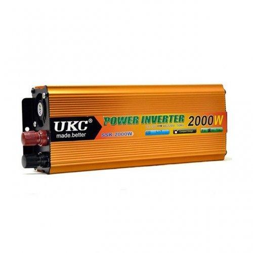 Инвертор на напрежение, UKC, 12V / 24V 220V, мощност 2000W