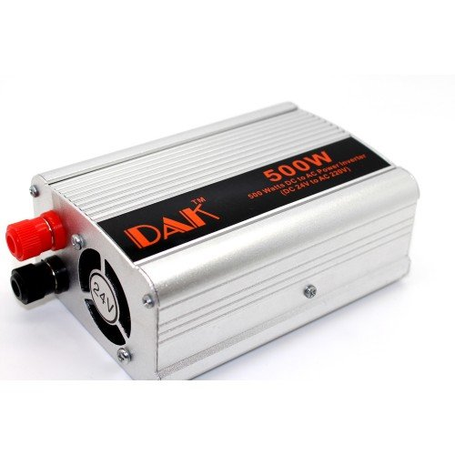 Инвертор на напрежение DAK 500w  12V,24V/220V