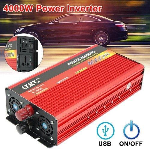 Инвертор на напрежение UKC 4000W 12V / 24V / 220V, Инвертер 4000В