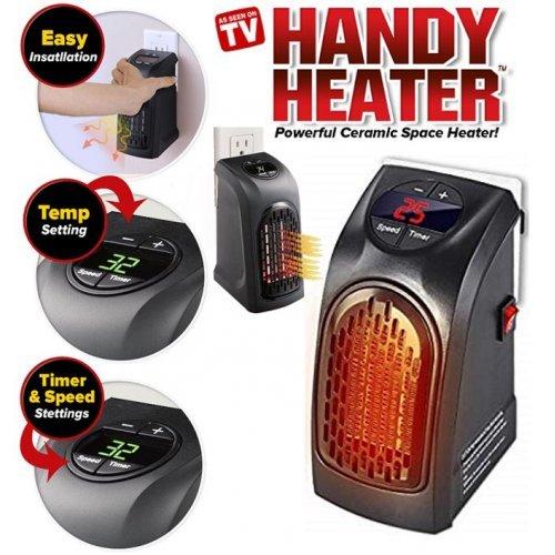 Портативна печка Handy Heater, 400w, с таймер