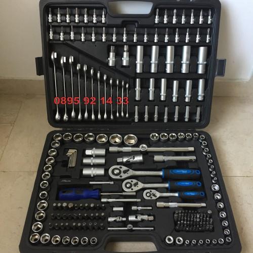 Гедоре KrafTWelle 215 части + ключове 8-22мм