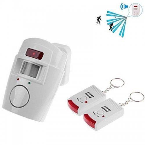 Аларма за дома с сензор и 2 бр дистанционно