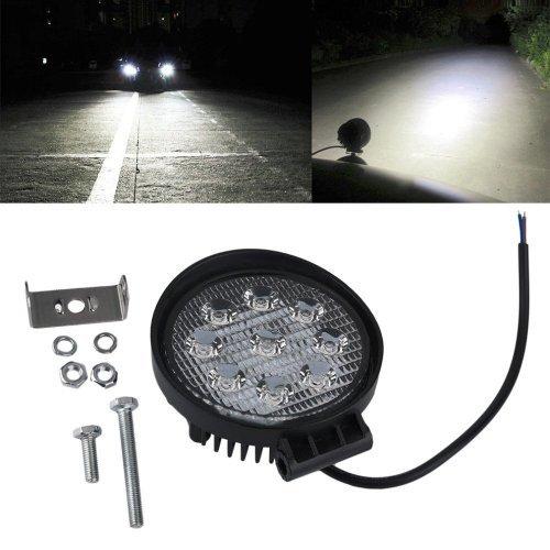LED Работна лампа 27W  - Offroad шофьорска лампа led 9-32v DC мотокари