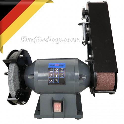 Немски Комбиниран дисков и лентов шлайф KraftWorld 250W - шмиргел