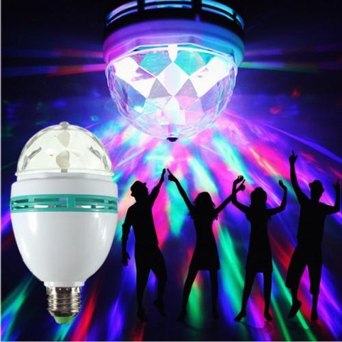 LED Диско крушка лампа E27 3W