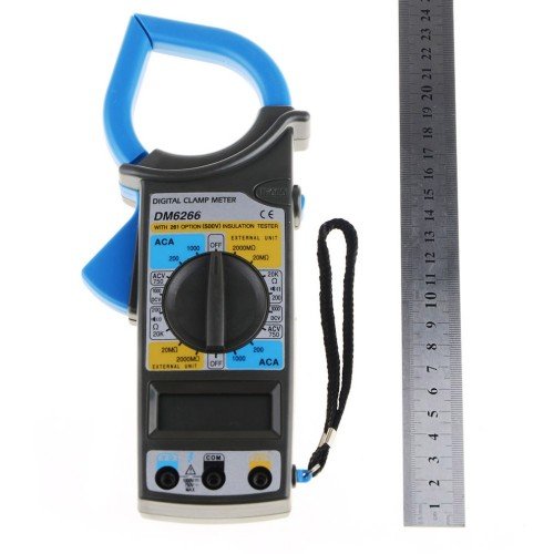 Дигитален Мултиметър с  Амперклещи - Мултицет