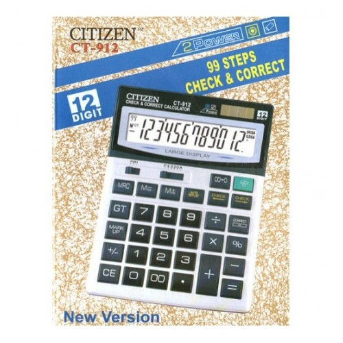 Електронен калкулатор CITIZEN 12 разряден