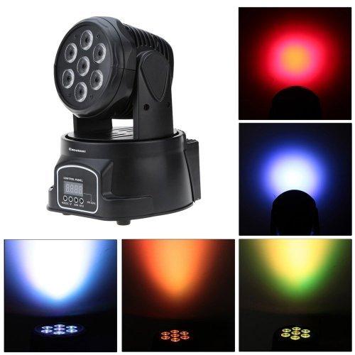 LED СПОТ Диско Лампа с Движеща Глава - за светлинни ефекти