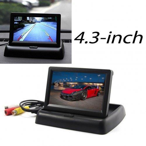Монитор 4,3 инча за задна камера - DVD за кола