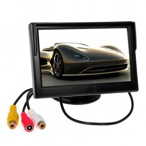 Монитор 5 инча за задна камера - DVD за кола