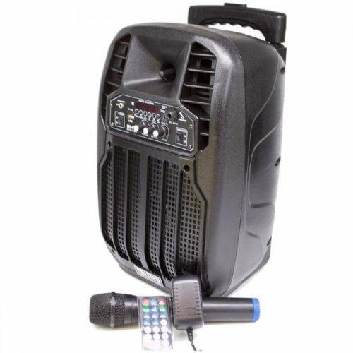 """Компактна акумулаторна караоке колона FEIYIPU ES-83 8"""" 300W с 1 микрофон"""