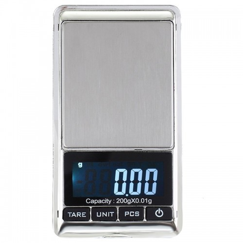 Джобна прецизна електронна везна/кантар 100г/200г/300г/500г х 0.1г