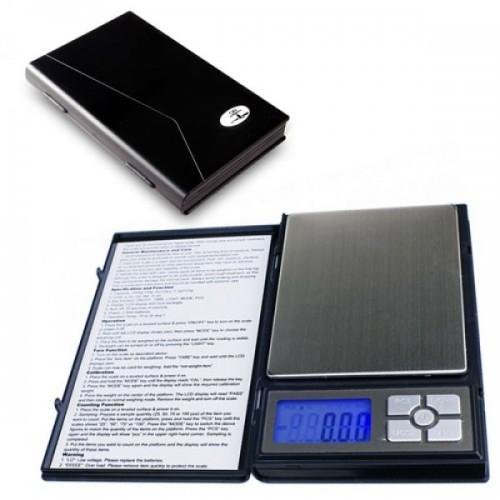 Електронна везна 500г х 0.01гр с 5 цифри LCD дисплей