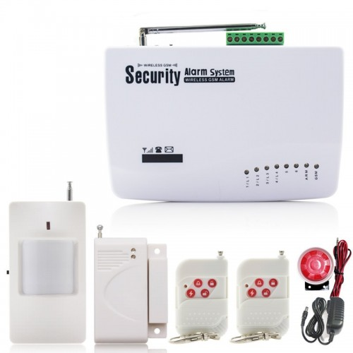 Безжична GSM алармена система за дома или офиса