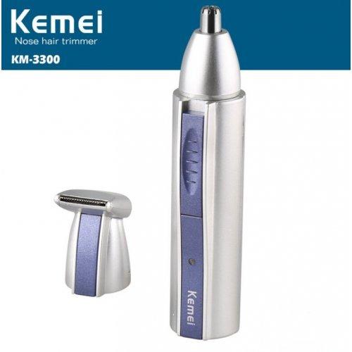 Безжичен Тример KEMEI 2 в 1 самобръсначка за уши нос брада вежди