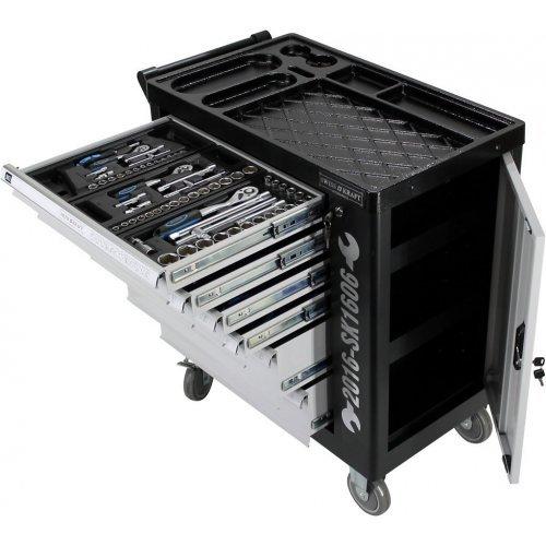 Немски Шкаф количка с инструменти 6 чекмеджета - 4 пълни