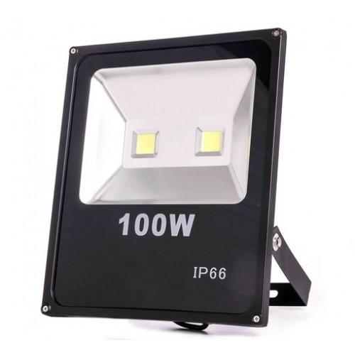 LED Прожектор 100W ДВУДИОДЕН Дебел