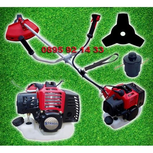Бензинов храсторез STRAUS 2,5kW 3.5HP 52cc - Тример за трева