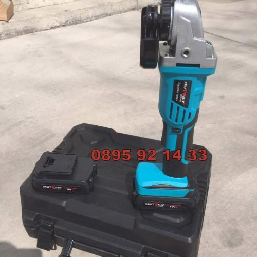 НЕМСКИ Акумулаторен ъглошлайф 115mm 18V - флекс на батерия
