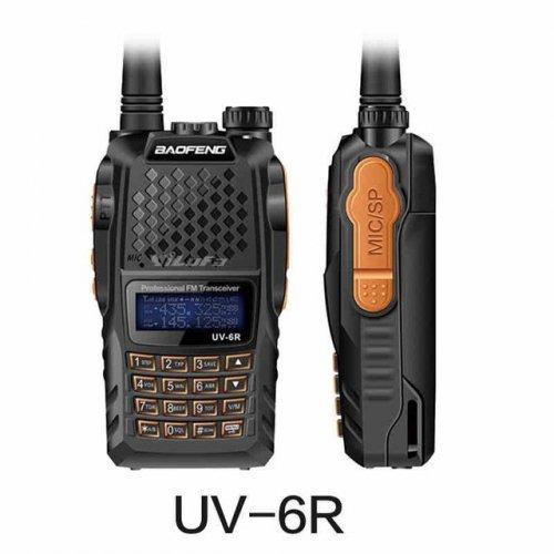 Професионална Радиостанция Baofeng 6R 8w двубандова за лов и охрана