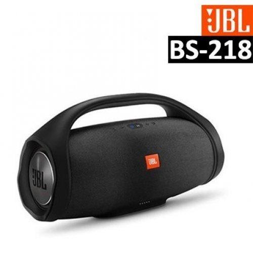 Тонколона JBL Boombox MINI , водоустойчива, безжична, с вградена батерия, зареждащa мобилни устройства, черна