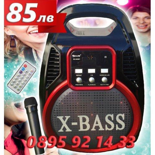 Караоке Колона Golon 820 с FM радио Bluetooth и Микрофон